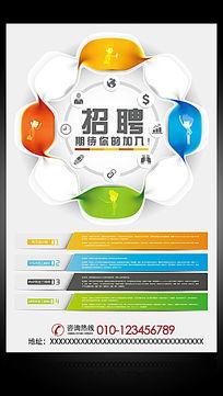 企业招聘广告海报设计