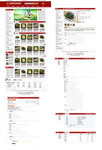 购物商城html网站源码