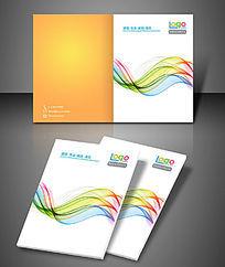 简约动感时尚企业画册封面