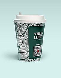 高档咖啡纸杯设计