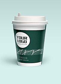 简约咖啡纸杯设计