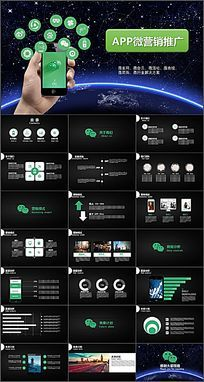 APP微营销推广互联网移动电子商务营销通用模板
