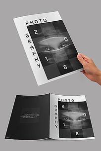 黑白摄影封面设计