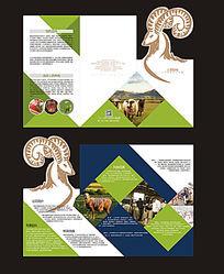 农业异型折页