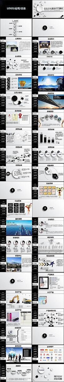 商业策划团队项目产品展示公司文化理念ppt