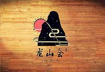 黑色高端商会logo