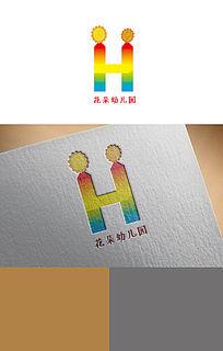花朵幼儿园logo