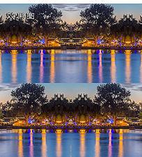 夜景海景视频素材