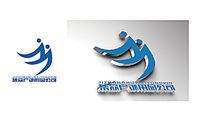 蓝色集众户外用品公司logo