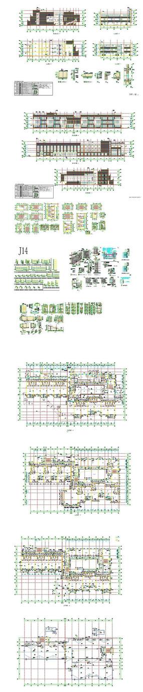 CAD学校幼儿园图纸
