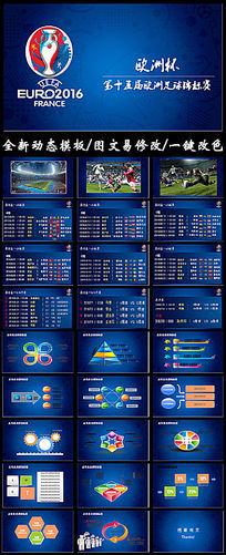欧洲杯赛程第十五届欧洲足球锦标赛PPT模板
