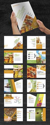 养生蜂蜜画册