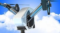 无人机航拍公司专用LOGO演绎片头