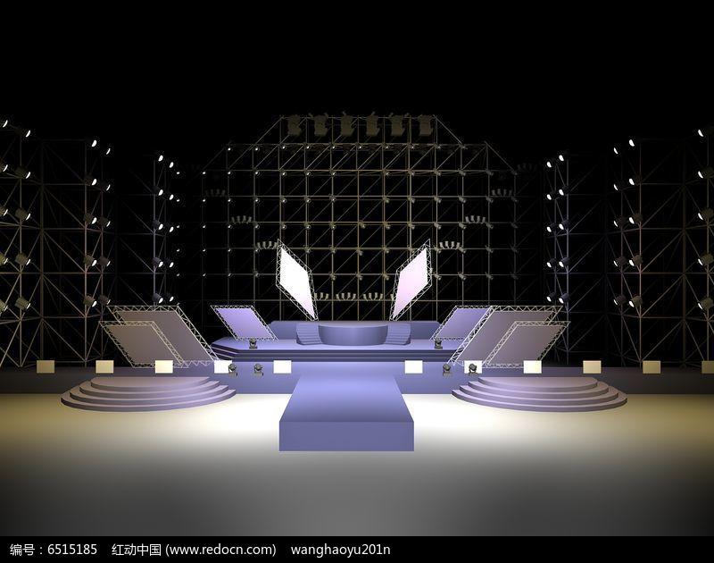 大型舞台设计舞美效果图