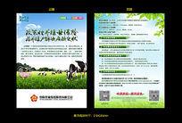 中原农险产品宣传单页