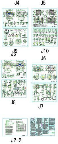 别墅庄园CAD图