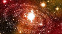 大气星空粒子背景视频 mov