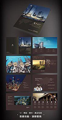 地产画册板式设计