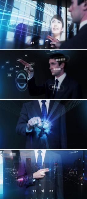 科技企业宣传视频素材