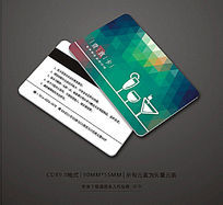 时尚酒吧会员卡设计