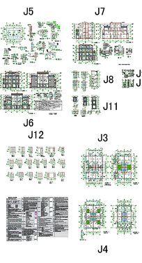 CAD别墅户型图纸
