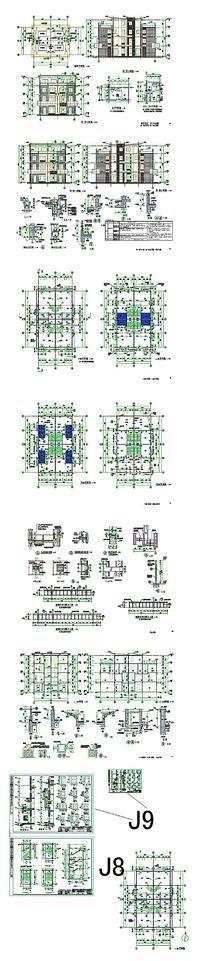 别墅住宅豪宅CAD图纸 dwg