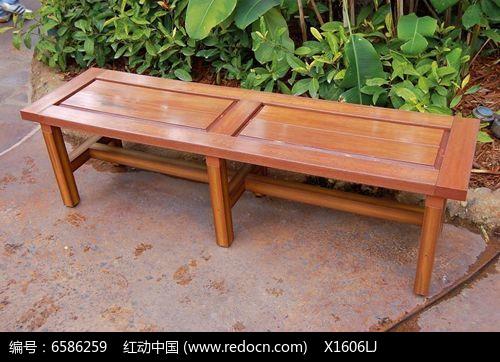 中式板凳休闲座椅图片