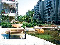 住宅景观水