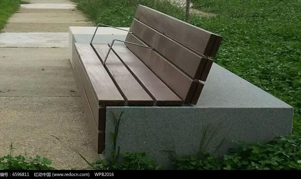 木质座椅jpg素材下载_室外家具设计图片