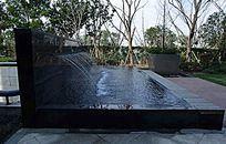 喷泉景墙图片