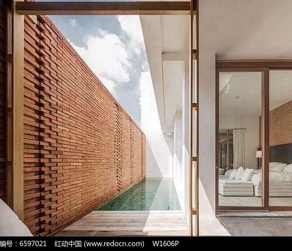庭院景墙jpg素材下载_围墙|栏杆|大门设计图片