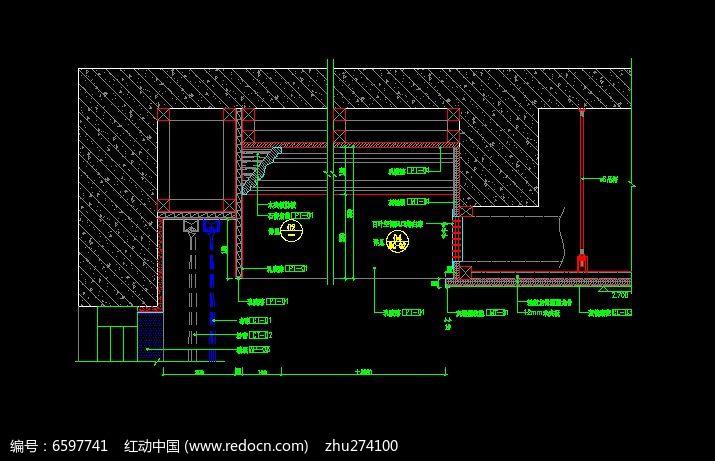 红动网提供室内装修精品原创素材下载,您当前访问作品主题是客厅造型吊顶剖面结构图,编号是6597741,文件格式是CAD,建议使用AutoCAD 2017及以上版本打开文件,您下载的是一个压缩包文件,请解压后再使用设计软件打开,色彩模式是RGB,,素材大小 是115.14 KB,如果您喜欢本作品,请使用上方的分享功能,分享给您的朋友,可以给他们的设计工作带来便利。