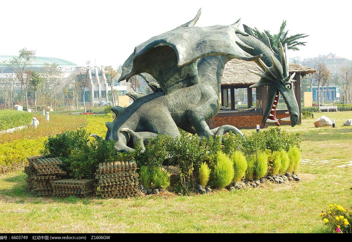 恐龙园雕塑小品