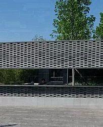 现代中式围墙 JPG