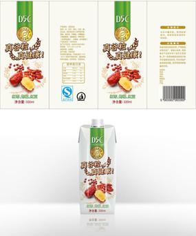 谷粒养生饮品包装