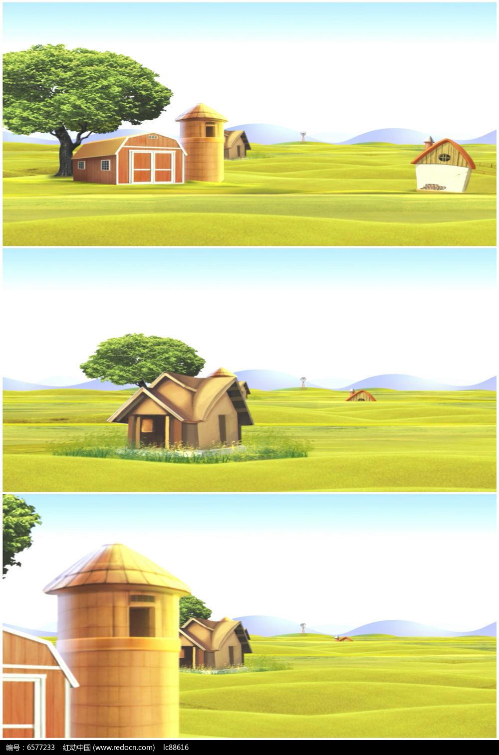 您当前访问作品主题是卡通农场乡村田园风光高清视频素材,编号是图片