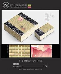 古典茶叶包装设计平面图图片 PSD