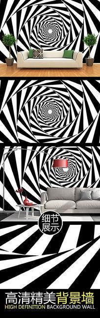 黑白摄影快门旋展图案艺术背景墙