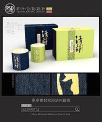 铁观音茶叶礼盒包装设计平面图图片