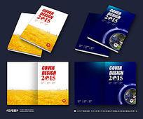 企业集团画册封面设计