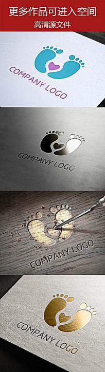 婴幼儿医疗科技类 慈善类企业标志设计