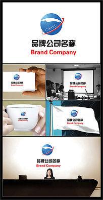 环球图案的公司标志