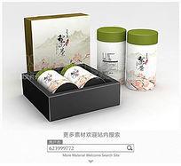 梨山茶包装设计平面图图片