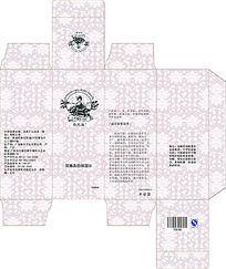 玫瑰化妆水包装盒设计