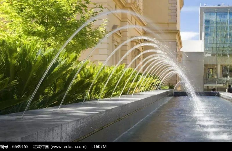 欧式小区喷泉水景景观