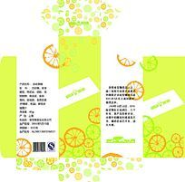 橘子味糖果包装设计