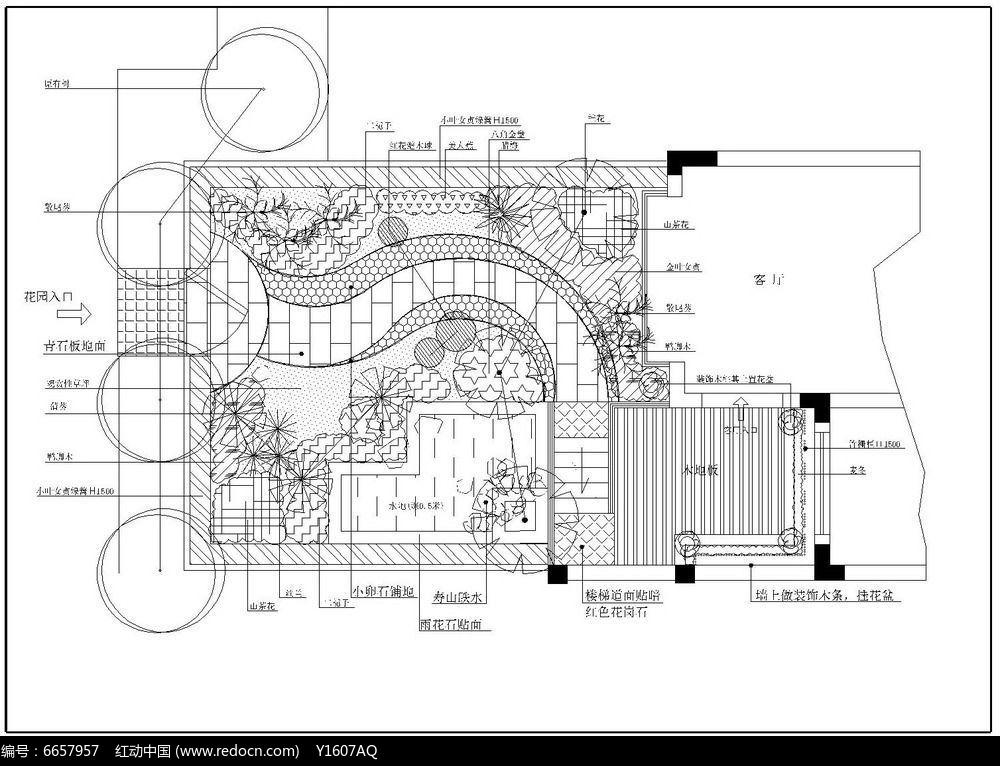 欧式花园别墅平面图_欧式效果图浅水湾户型别墅图图片