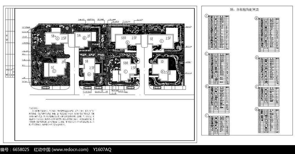 别墅花园绿化设计方案图片