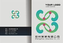 简约类花纹图案画册封面设计