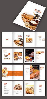 美食面包类画册